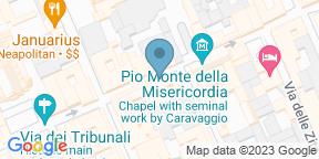 Google Map for Trattoria Pizzeria Caravaggio