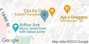 Google Map for Roberto's Restaurant