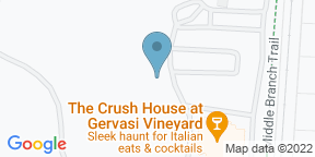 Google Map for The Piazza at Gervasi