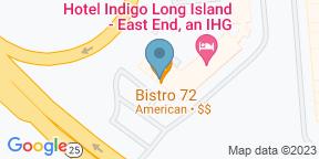 Google Map for Bistro 72 At Hotel Indigo East End