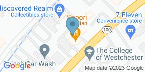 Google Map for Sapori Italian Restaurant - White Plains