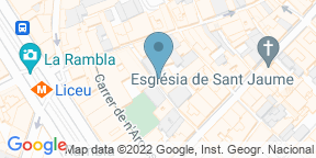 Google Map for Can Culleretes