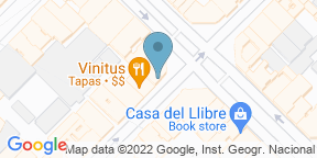 Google Map for 2254 restaurant