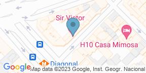 Google Map for MR PORTER BARCELONA