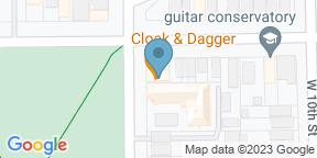 Google Map for Cloak & Dagger