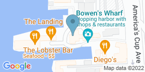 Google Map for 22 Bowens Wine Bar and Grille