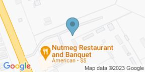 Google Map for Nutmeg Restaurant