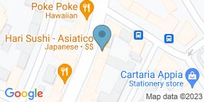 Google Map for Hari Ristorante Giapponese