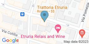 Google Map for Trattoria Etruria 39
