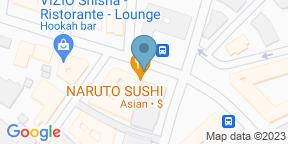 Google Map for Naruto Sushi