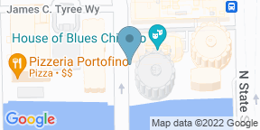 Google Map for Foundation Room House of Blues Chicago