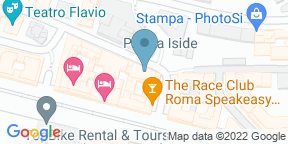 Google Map for Sensi Ristorante