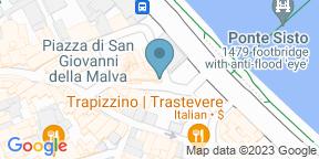 Google Map for Antica Osteria Ponte Sisto