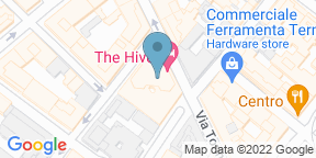 Google Map for The Hive Rooftop Restaurant