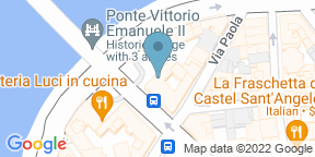 Google Map for Ristorante Ponte Vittorio
