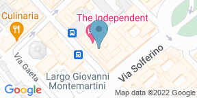 Google Map for Diana's Place Bistrot Termini