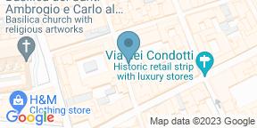 Google Map for Pesciolino