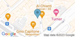 Google Map for Trattoria Coriolano