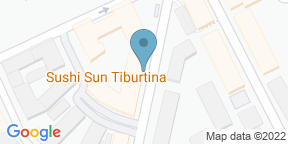 Google Map for Sushi Sun Tiburtina