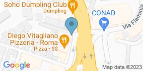 Google Map for T-Bone Station - Flaminia