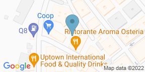 Google Map for Aroma Osteria Fleming