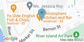 Google Map for Christopher's