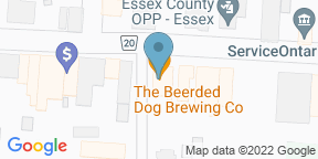 Google Map for The Beerded Dog