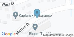 Google Map for Not Your Average Joe's Randolph