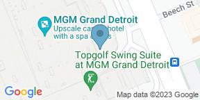 Google Map for D.PRIME Steakhouse at MGM Grand Detroit