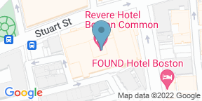 Google Map for Rooftop at Revere - Revere Hotel