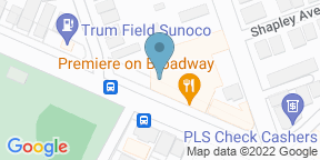 Google Map for Premiere on Broadway