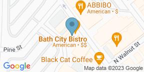 Bath City BistroのGoogle マップ