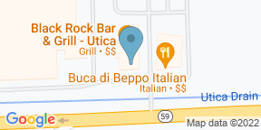 Black Rock - Utica - PRIORITY SEATINGのGoogle マップ