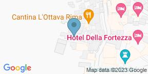 Google Map for Hosteria Del Borgo