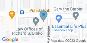 Google Map for Pubski Pub