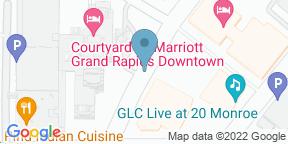 Google Map for Gilly's at The B.O.B.