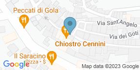 Google Map for Chiostro Cennini