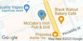 Google Map for Mccabe's Irish Pub & Grill - London
