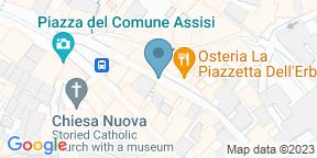 L'Osteria AssisiのGoogle マップ