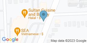 Google Map for Abyssinia Restaurant