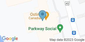 Google Map for Ostin's Restaurant