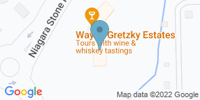 Google Map for The Whisky Bar Patio at Wayne Gretzky Estates