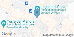 Google Map for Osteria Pizzeria Sotto le Logge del Papa