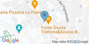 Google Map for Trattoria Fonte Giusta
