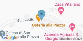 Google Map for Osteria Alla Piazza