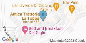 Google Map for Antica Trattoria La Toppa