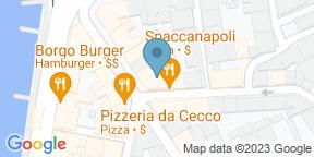 Mappa Google per Ristorante Pizzeria Spaccanapoli