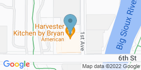 Google Map for Harvester Kitchen by Bryan