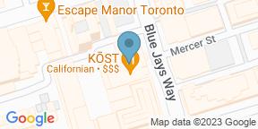 Google Map for Mister C Bar Room