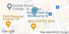 Google Map for The Chefs' House - George Brown College
